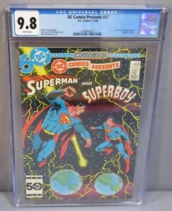 DC COMICS PRESENTS #87 (Superboy-Prime 1st app) CGC 9.8 NM/MT 1985 Superman