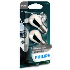Philips SilverVision Silver Vision PY21W Ampoules de voiture d'indicateur (x2)