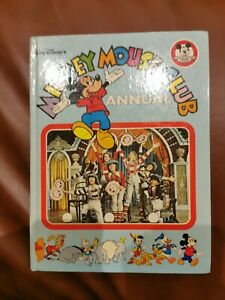 Walt Disney's Mickey Mouse Club Annual - 1978/9 - Published by Purnell -Hardback
