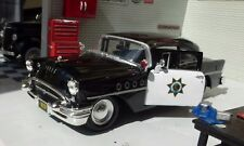 1:26 24 LGB Maisto Buick Century 1955 California Highway Police Car Scale Model