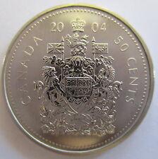 2004P CANADA 50 CENTS SPECIMEN HALF DOLLAR COIN