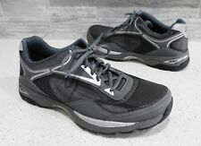 Men's ABEO Pro 24/7 Preston Orthotic Gray Lace Up Walking Sneakers Shoes 11.5