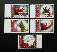 Gibraltar Christmas 2012 Festivals Santa Clause Winter (stamp with margin) MNH