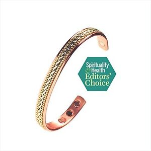 NEW Earth Therapy Elegant Pure Copper Rope Inlay Healing Bracelet FREE SHIPPING