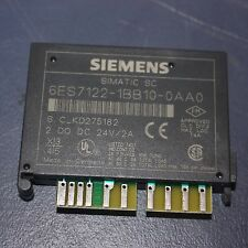 SIEMENS Simatic SC 6ES7122-1BB10-0AA0 X8 with TB16 SC