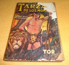 """TARZAN """"de los Monos"""" book Argentina 1945 TOR Spanish VINTAGE Burroughs"""