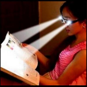 LED Multi Strength Light Up Reading Glasses, Hobby, Jeweler, Mechanic, Repairs