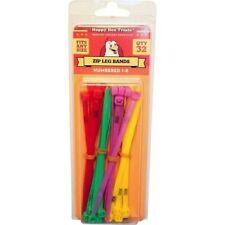 Numbered Zip Ties, Zip Tie Leg Bands, Happy Hen Treats 32 pack Revised Pricing!