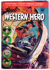 REAL WESTERN HERO #74 in FN/VF condition a 1949 FAWCETT Golden Age Comic