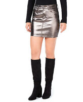 Guess | 5-Pocket Mini Skirt | Silver | XL
