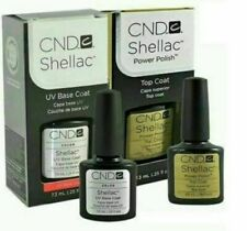 CND Shellac Set Base coat  + Top coat top Qualität Gel Kit UV LED Lack Gel