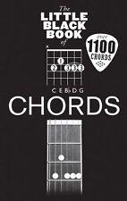 LITTLE BLACK BOOK OF CHORDS Guitar
