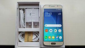 Samsung Galaxy S6 SM-G920F 5.1inch 32GB 3GB RAM (Unlocked) Smartphone - Gold...