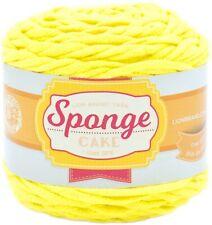 Lion Brand Sponge Cake Yarn-Yellow
