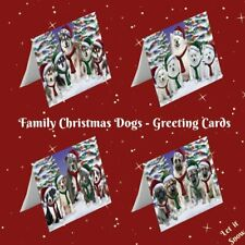 Christmas Family Portrait Dogs Cats Pet Photo Greeting Invitation Card