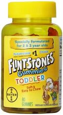 2 Pack - Flintstones Toddler Gummies, 80 Each