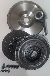 ✅DUAL MASS TO SM FLYWHEEL, CLUTCH KIT, CSC, ALL BOLTS FOR VW GOLF MKV 2.0TDI 16V
