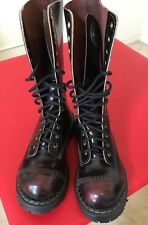 GRINDERS Ladies Combat Boots UK Size 3, US Size 5
