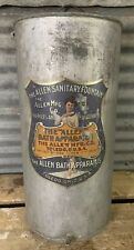 Antique 1908 The ALLEN SANITARY FOUNTAIN Shower Orig Hose Bath Apparatus USA 🚿