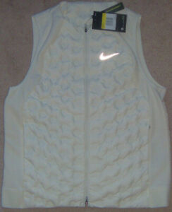 New Womens Nike Aeroloft Down Packable Running Performance Vest Size S MSRP $180