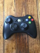 Official Microsoft Xbox 360 BLACK Wireless Controller OEM Tested