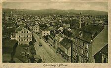 Czech Austria Liberec Reichenberg Main Street pre WWI used in 1922 postcard