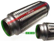 Auspuff Flexrohr Hosenrohr Katalysator Ø 60 x 200 Länge (mm)
