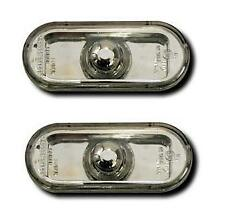 AutoArt Chrome Clear Side Repeaters to fit VW Golf Polo Seat Galaxy