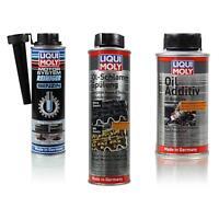 LIQUI MOLY Set Motor-System-Reiniger Benzin Öl-Schlamm-Spülung Oil Additiv