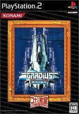 Used PS2 Gradius III and IV Konami SONY PLAYSTATION JAPAN IMPORT