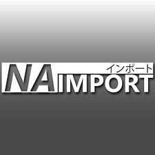 Mazda MX5 Miata NA Import Engine Japanese JDM Euro Car Vinyl Decal Sticker Jap