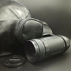 """"""" Camera Bag + Hood """" Tamron LD 200-400mm f5.6 AF Lens for Canon EF mount JAPAN"""