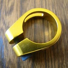 Evoke BMX Seat Clamp Excellent Quality Anodised Gold BNIP