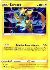 POKEMON ZERAORA 061/185 RARA HOLO VOLTAGGIO SFOLGORANTE