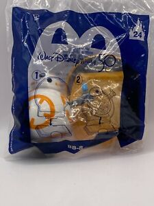 2021 McDonald's Happy Meal Walt Disney World 50th Annv. BB-8 Toy #24 New Sealed