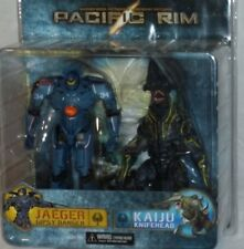 NECA MISP Pacific Rim GIPSY DANGER KNIFEHEAD Jaeger Kaiju action figure 2 pack