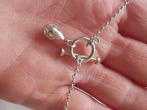 Sterling Silver Pretty T-bar Bracelet