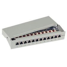 29.2cm 1u Mini Entlüftet Stanzen Gestell Patch Panel Daten Modul Plate Mount