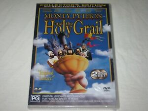 Monty Python And The Holy Grail - Brand New & Sealed - Region 4 - DVD