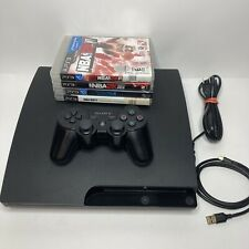 Sony PlayStation 3 Slim Bundle PS3 CECH 3001B With Controller 3 Games 320 GB