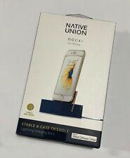 Native Union - Estación +Base de Carga Base para Seleccionar Apple Dispositivos