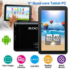 """9"""" Inch Android 5.1 Quad Core Tablet  8GB HD 2 Cameras WIFI with Keyboard Bundle"""