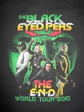 "2010 The Black Eyed Peas ""The E.N.D."" Concert Tour (Xl) T-Shirt Fergie"
