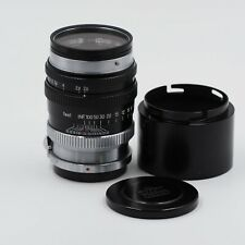 Nikon Nikkor P.C. 105mm F/2.5 S Mount with case, hood, and filter