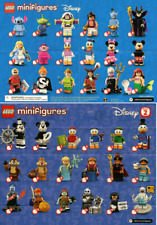 LEGO MINIFIGURE SERIES DISNEY 1 et DISNEY 2 - Minifigurine ô choix - Choose -NEW
