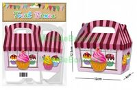 20 Girls Pink CupCake Shop Birthday Party Treat Boxes Cake Favour Sweet Gift Box