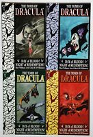 THE TOMB OF DRACULA: NIGHT OF REDEMPTION #'s 1-4 (FULL MINI SERIES, 1991), VF/NM