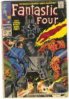 Fantastic Four 80 Marvel 1968 VG Jack Kirby Stan Lee 1st Tomazooma