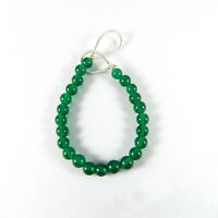 Green Onyx 4mm Round Faceted 3.5 Inch Handmade Beads Jewelry ER5783
