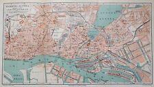 Stadtplan von Hamburg, Maßstab 1:17500, Meyer um 1897